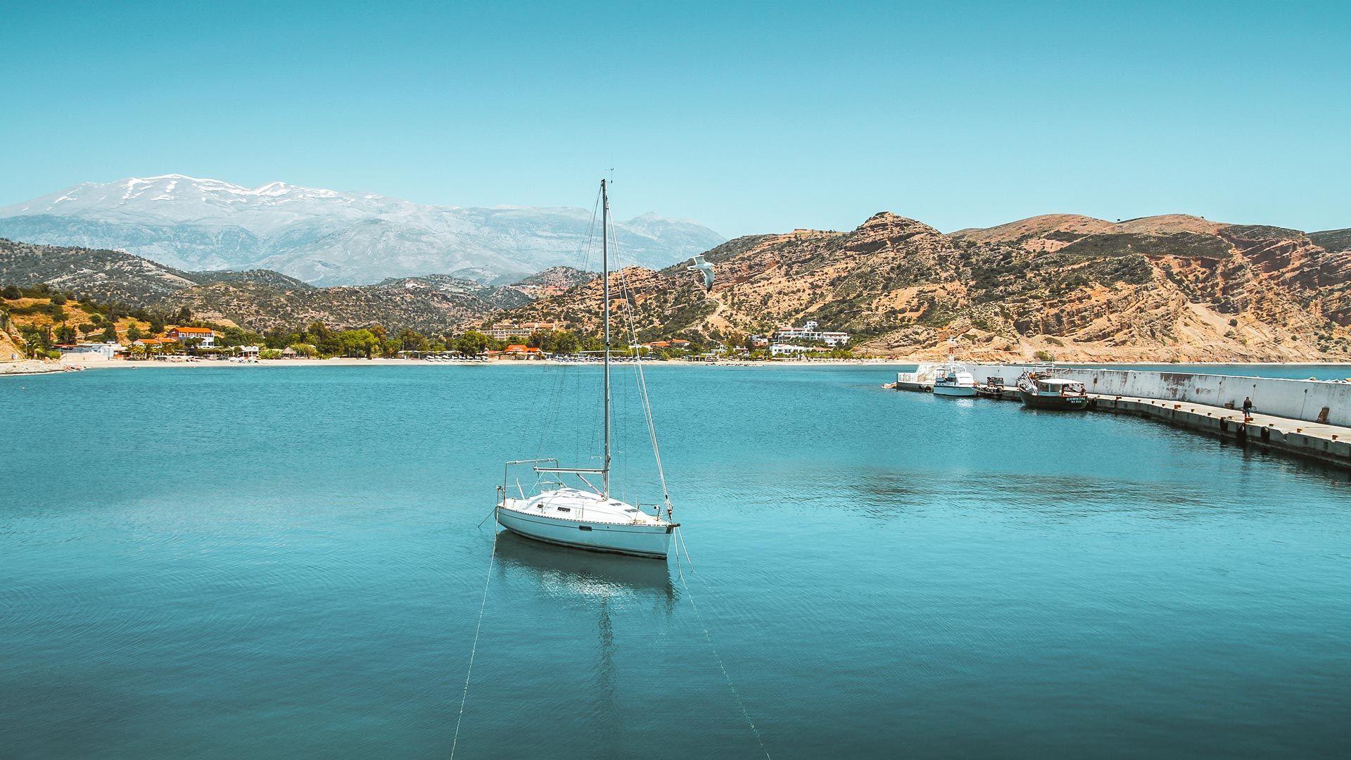 Αγία Γαλήνη, νότια Κρήτη